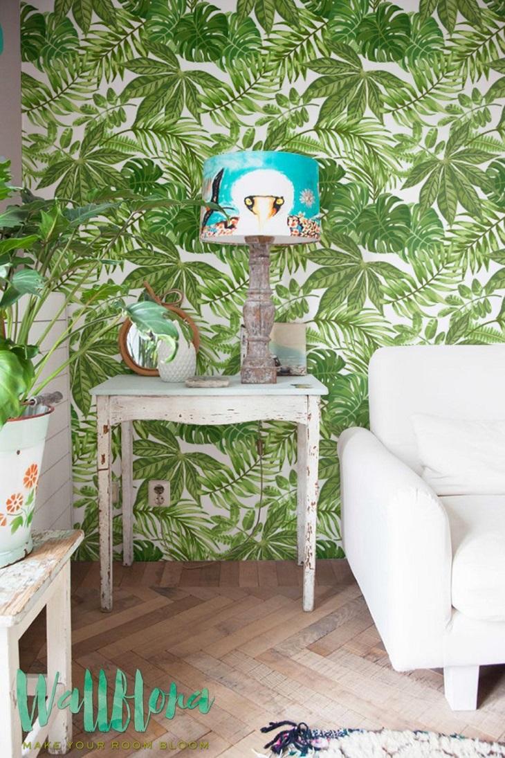 paredes hojas - handfie