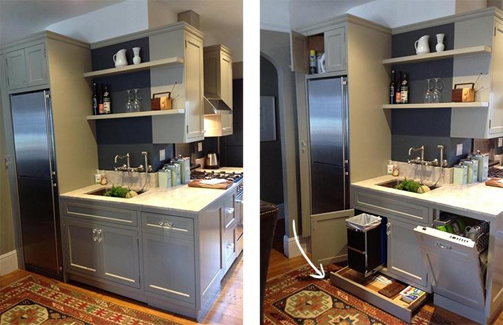 Ideas con estilo para decorar cocinas pequeñas - Handfie