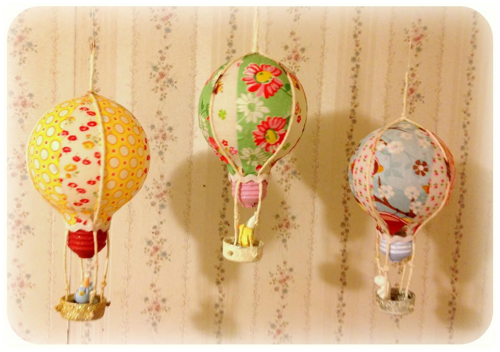 Manualidades con bombillas - globos