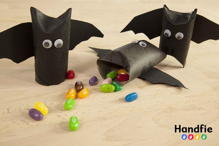 Vampiros para niños DIY / Handfie