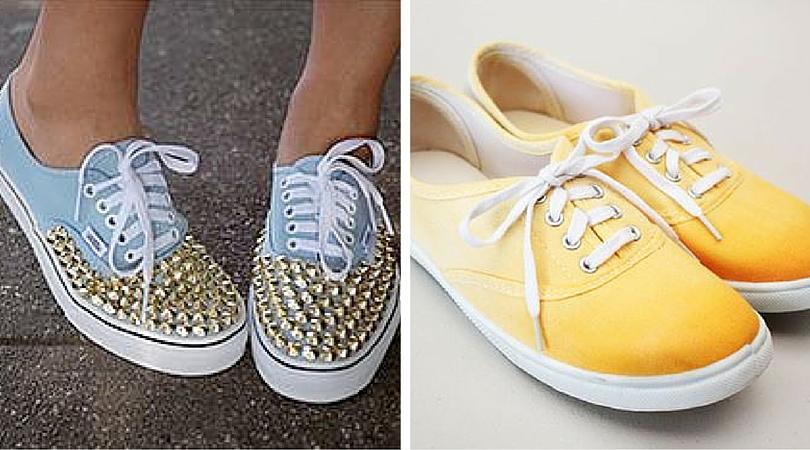 customiza tus zapatillas