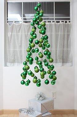 Árbol de Navidad con bolas de árbol