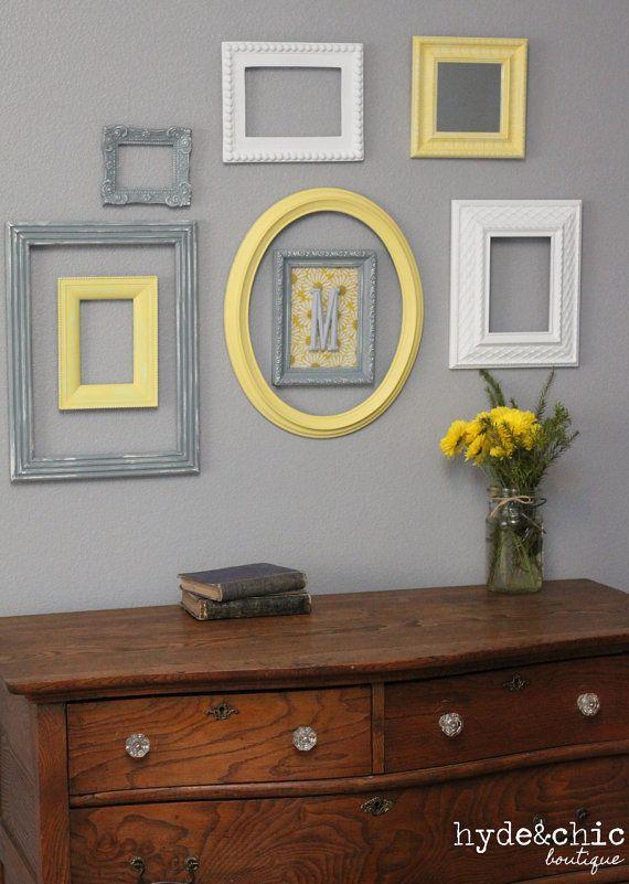 7 ideas geniales para decorar con marcos - Handfie
