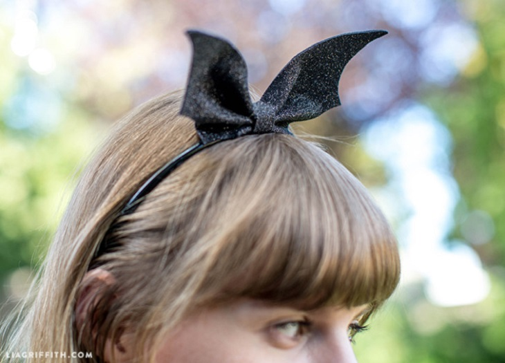 Diadema Batwoman - Handfie DIY