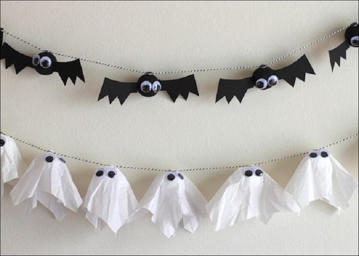 Guirnalda de halloween - Handfie DIY