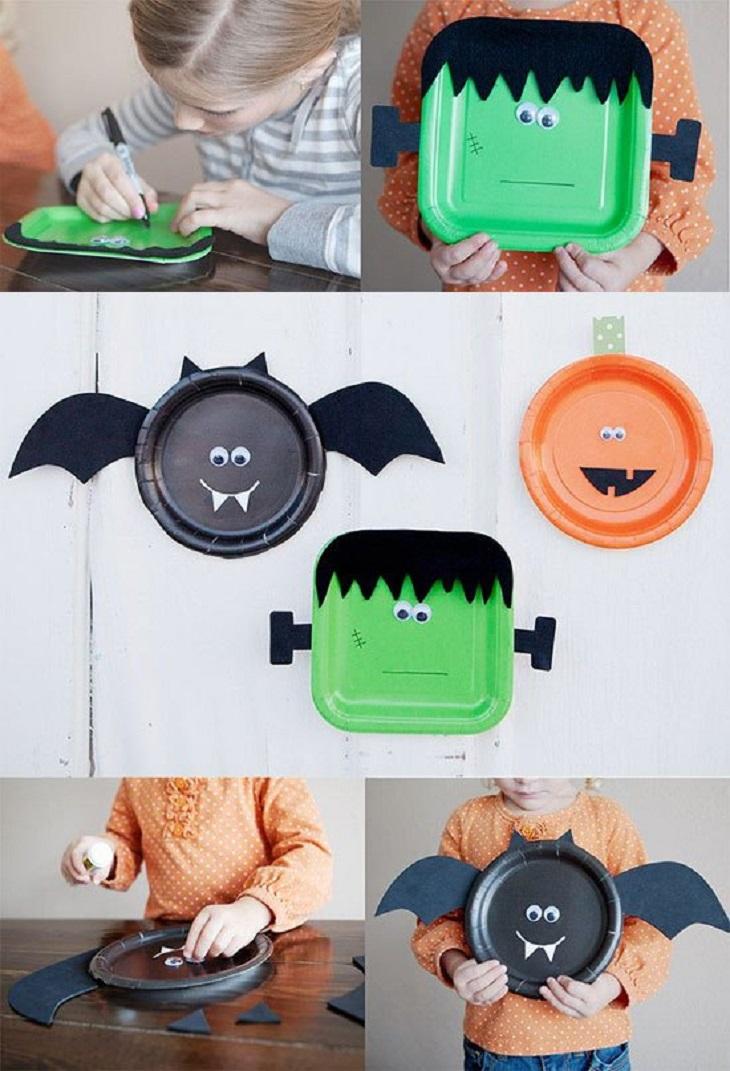 Manualidades de Halloween para niños - Handfie DIY