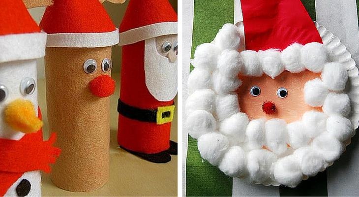 Manualidades De Navidad Para Ninos Creativos Handfie - Trabajos-manuales-de-navidad-para-nios