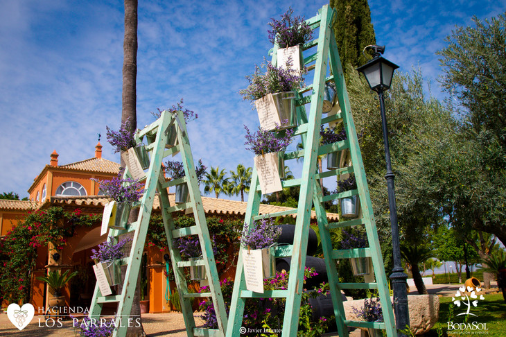 Escaleras DIY Hacienda los Parrales