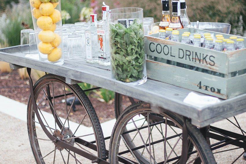 carrito de bebidas DIY