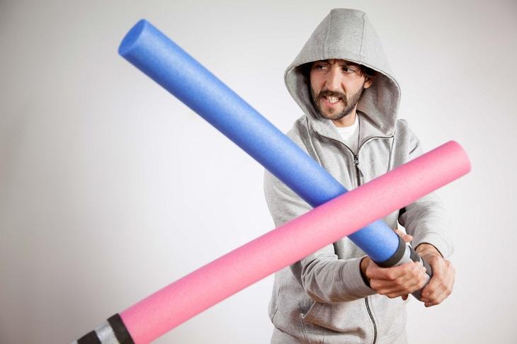 Jedi - disfraz DIY