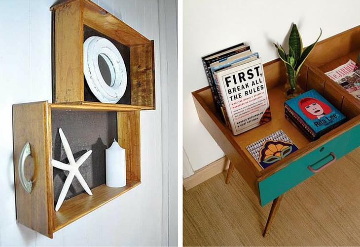 reciclar muebles cajones