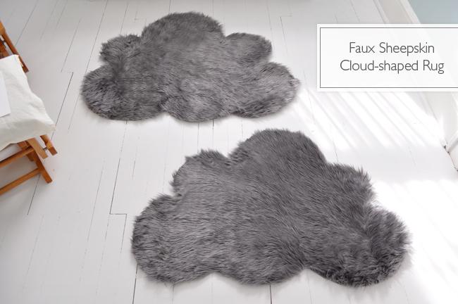 Handfie - 9 ideas de alfombras DIY - alfombra nube