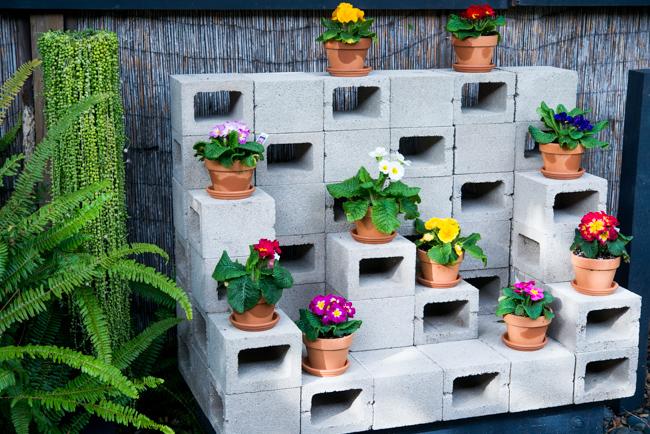 cemento - jardines verticales