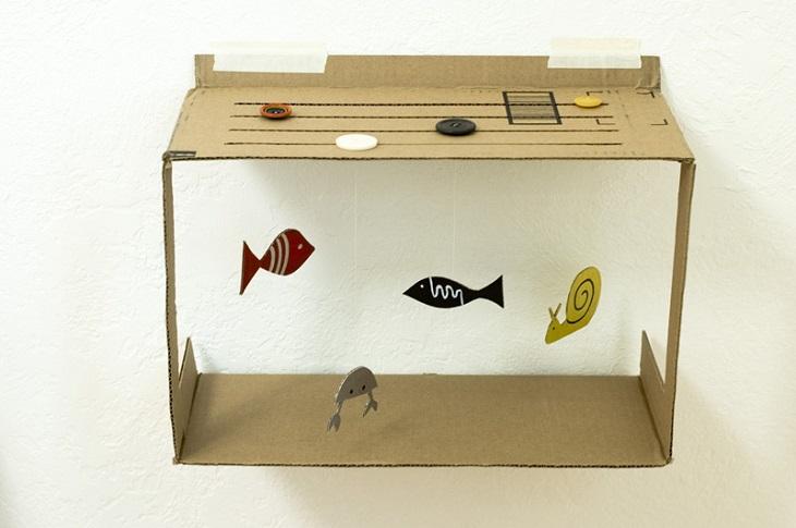 24 manualidades para hacer con cajas de cartn Handfie