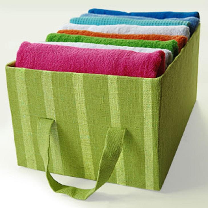 Handfie - 24 manualidades con cajas de carton - caja para toallas