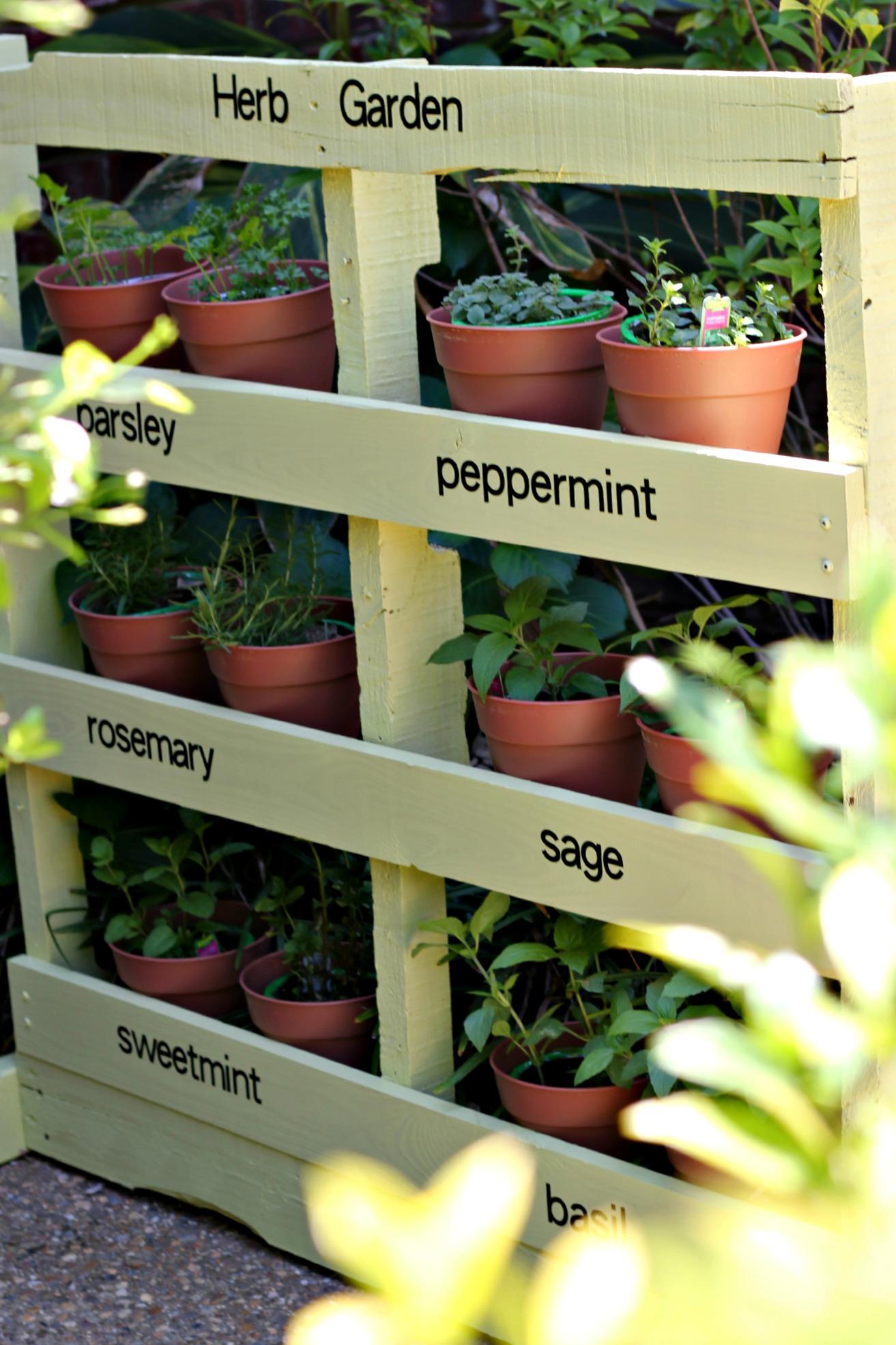 palet- jardines verticales