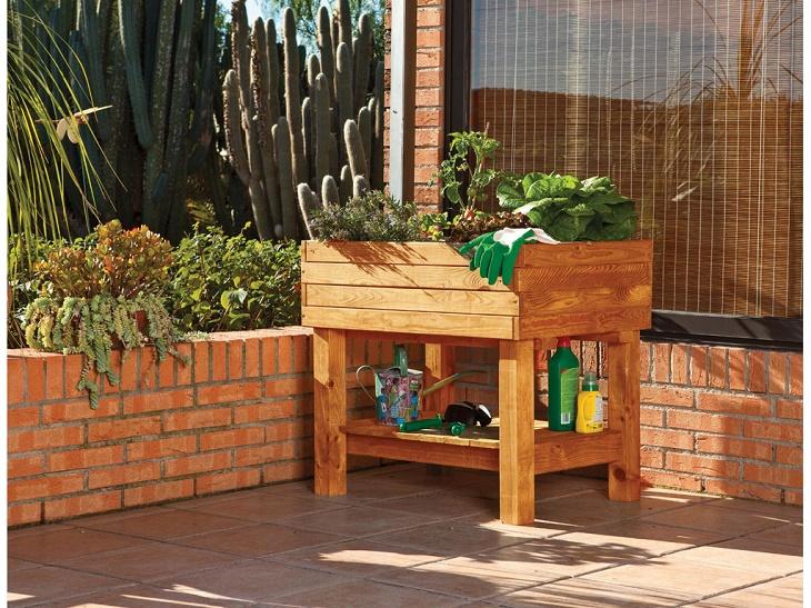 Mueble huerto urbano de Catral
