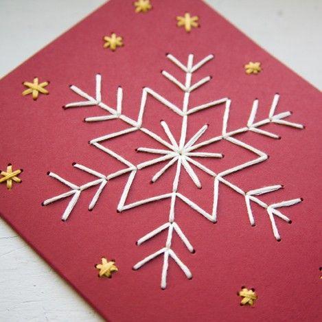 15 Tarjetas De Navidad Hechas A Mano Muy Muy Originales Handfie - Manualidades-de-tarjetas-de-navidad