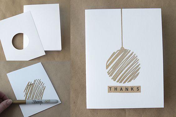 15 Tarjetas De Navidad Hechas A Mano Muy Muy Originales Handfie - Como-se-hace-una-tarjeta-de-navidad