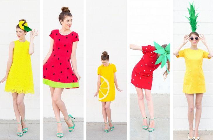 Disfraces diy de Carnaval para los amantes de la fruta