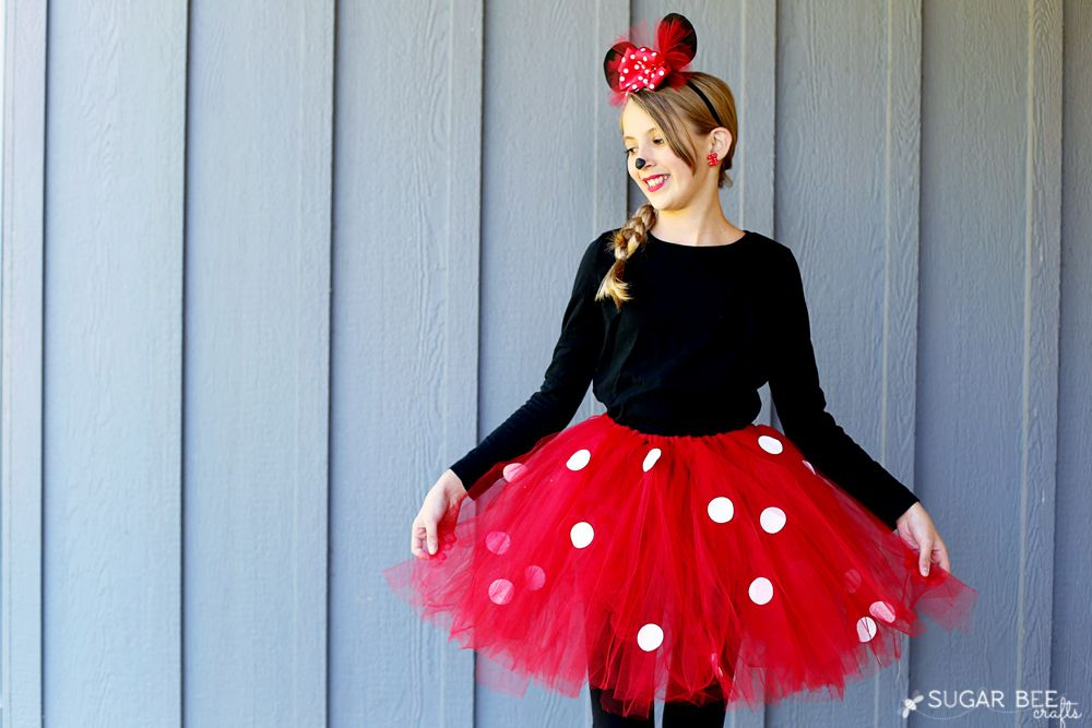 Disfraz sencillo de Minnie Mouse