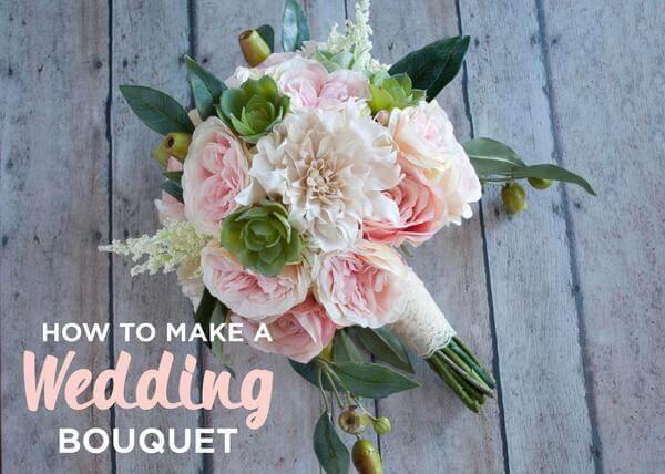 Como hacer un ramo de flores para boda