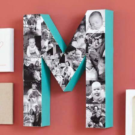 Letra Eme, regalo original día de la madre