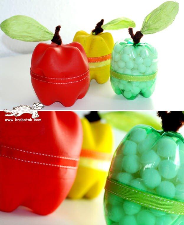 Manzanas de plástico para organizar