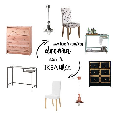 Ideas para decorar con Ikea Hacks