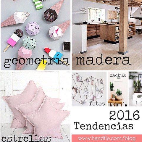 Tendencias de decoración para 2016