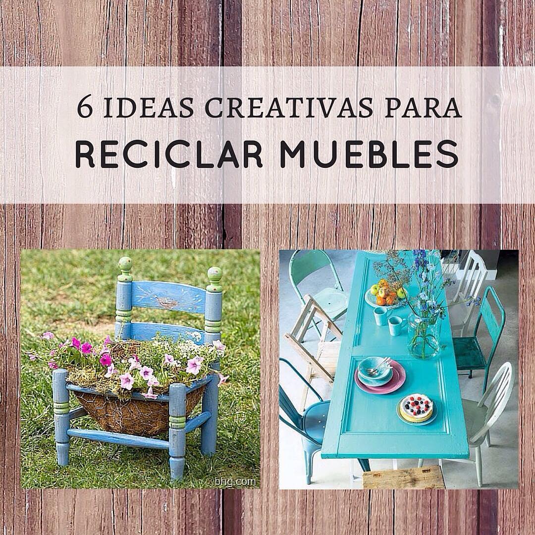 16 ideas para reciclar muebles y darles un nuevo uso for Muebles para reciclar