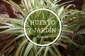 ideas de jardín y huerto para marzo