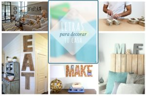 letras decorativas DIY