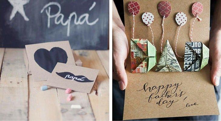 Tarjetas personalizadas para el Día del Padre