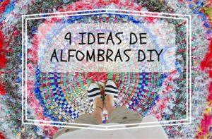 9 alfombras DIY