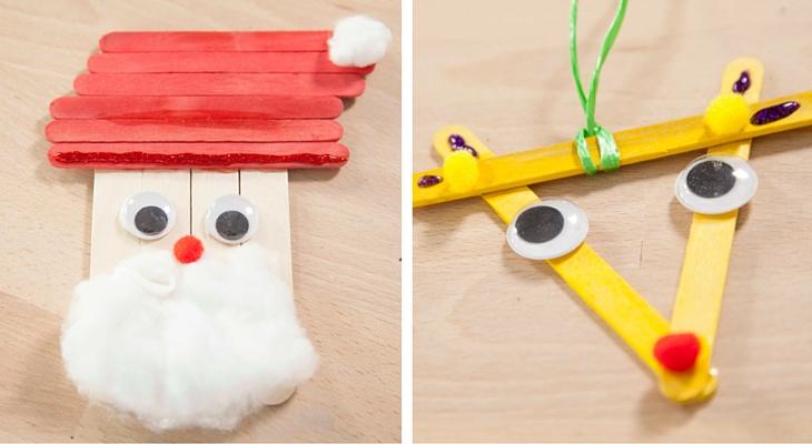 Manualidades de navidad para ni os creativos handfie - Manualidades de navidad para ninos pequenos ...