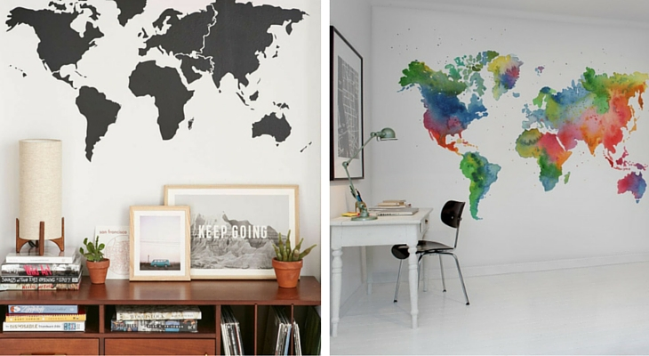 8 ideas originales para decorar paredes de casa handfie for Ideas para pintar paredes