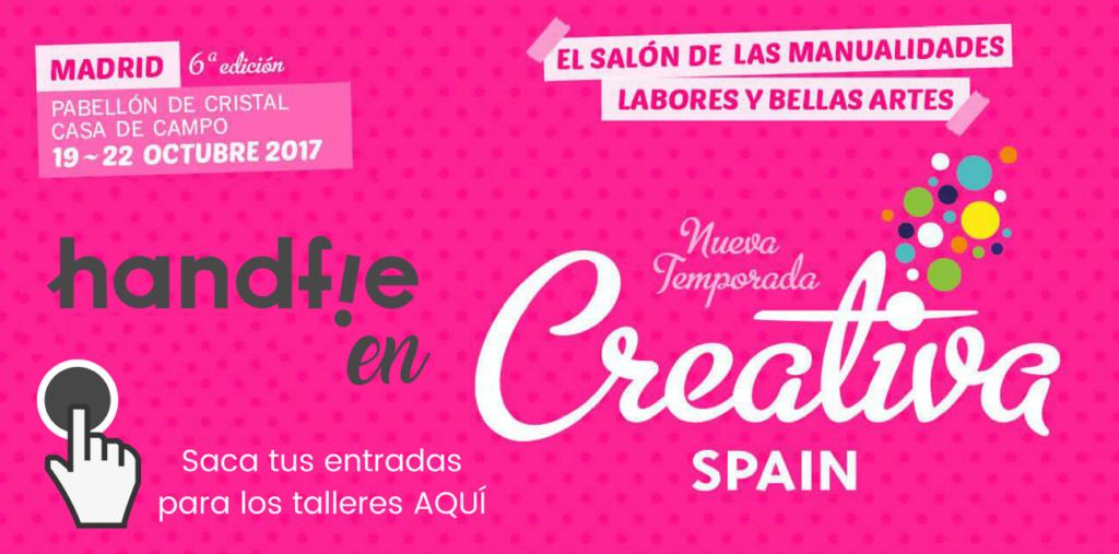 Handfie en Creativa Madrid