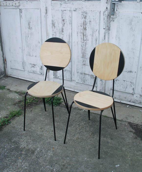 18 formas originales de personalizar sillas ten una for Sillas hierro ikea