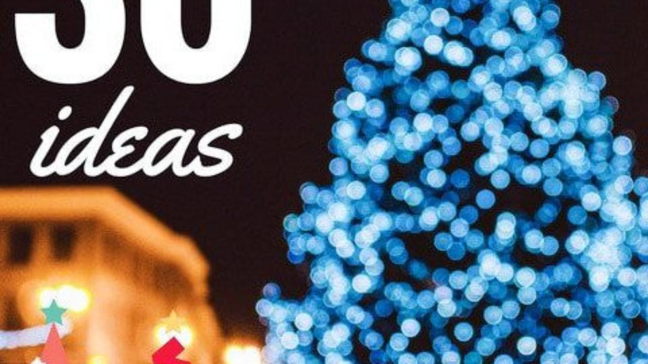 Dibujos De Navidad Para Decorar La Clase.30 Arboles De Navidad Originales Handfie