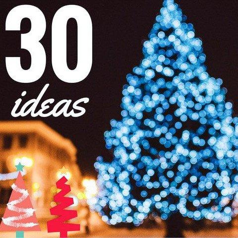 árboles de Navidad originales do it yourself