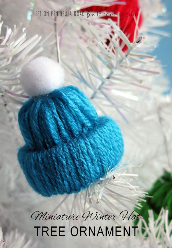 Manualidades Gorros De Navidad.Adornos Navidenos Manualidades Para Colgar En Tu Arbol De