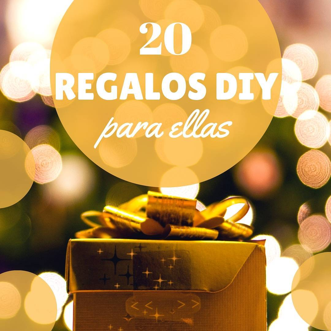 20 regalos originales hechos a mano para ellas