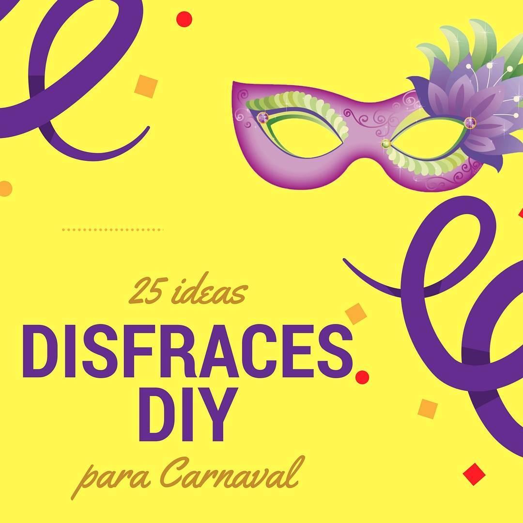 ideas fáciles para disfraces diy para Carnaval