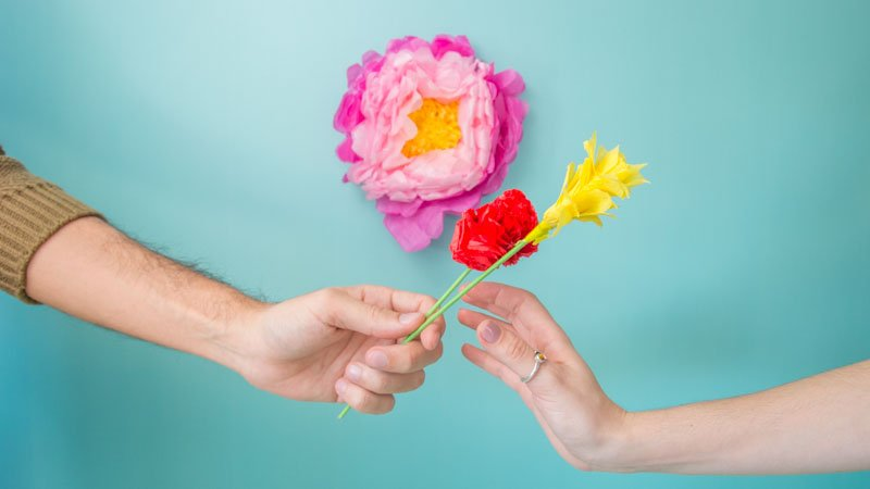 Manualidades Faciles Para San Valentin Flores Diy Handfie Diy