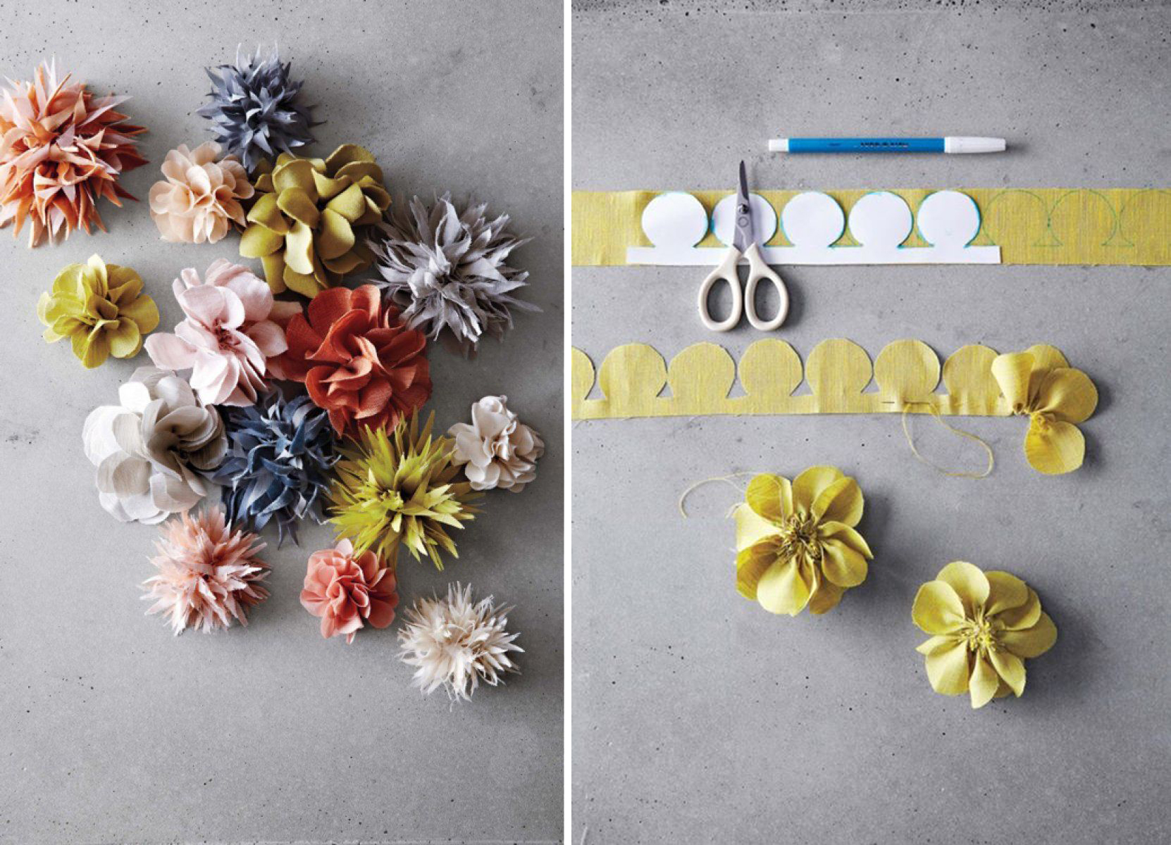 Manualidades f ciles para san valent n flores diy - Telas para decorar ...