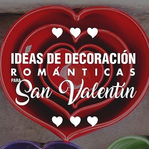 Imágen de portada para le bog de handfie sobre ideas de decoración románticas para el día de San Valentín o dí a de los enamorados este 14 de febrero.