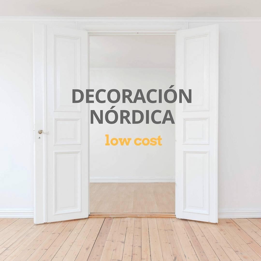 Ideas de decoraci n n rdica low cost ideas y trucos para for Manualidades decoracion casa