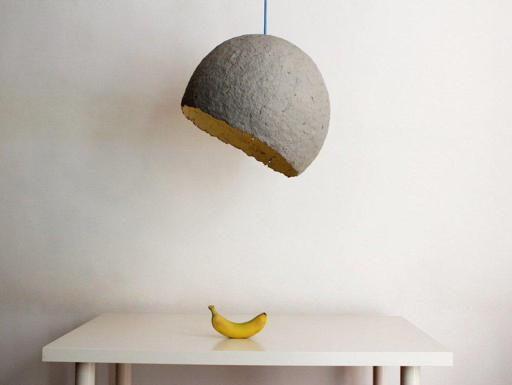 Ideas de decoraci n 14 l mparas diy para tu casa - Lamparas de techo hechas en casa ...