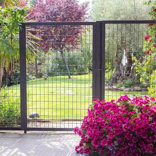 C mo pintar la valla del jard n handfie diy for Vallas jardin ikea